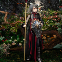 New Arrival BJD Dolls Minifee Klaus Human Version 1/4 FP Dark Knight Fairyline Boy Toys for Girls Surprise Gift Fairyland