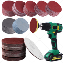 3 Inch 75mm Sandpaper Sanding Disc For Metal Auto Wood Car Wheel Restoration Sanding Polishing Kit P800 P1200 P2000 P5000