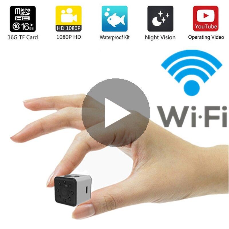 كاميرا مراقبة صغيرة لاسلكية واي فاي CCTV كاميرا مراقبة صغيرة مع Wifi كاميرا IP كاميرا كامارا للهواتف واي فاي واي فاي كاميرا مربيةكاميرات المراقبة   -
