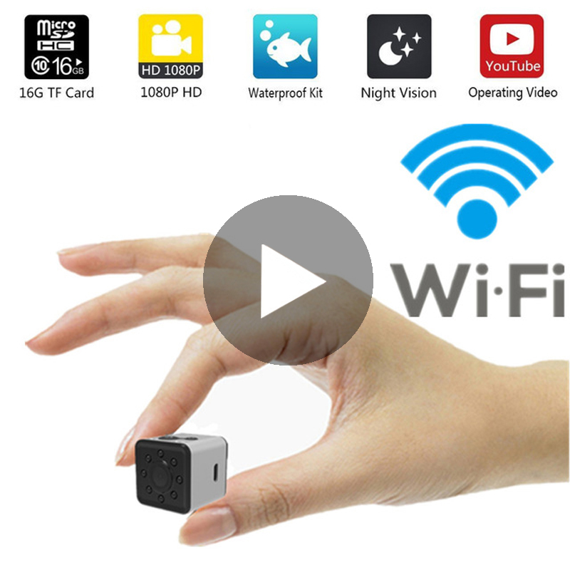 Micro Home Wireless Video Wi Fi CCTV Mini Surveillance Security With Wifi IP Camera Cam Camara For Phone Wai Fi IPcamera Nanny