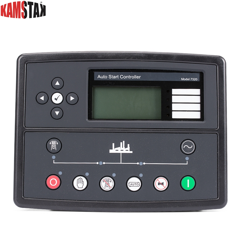 DSE7320 auto generator controller DSE 7320 AMF ATS panel electric automatic remote lcd display siesel genset part made in China
