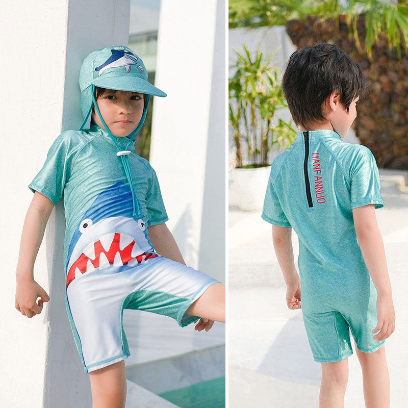Best For ALL Boys Two Piece Rash Guard Swimsuits Kids Long Sleeve UV Sun Protection Sunsuit Swimwear Sets