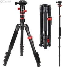 Cadiso M5 – trépied de voyage professionnel pour appareil Photo, monopode avec tête sphérique pour Smartphone, appareil Photo DSLR