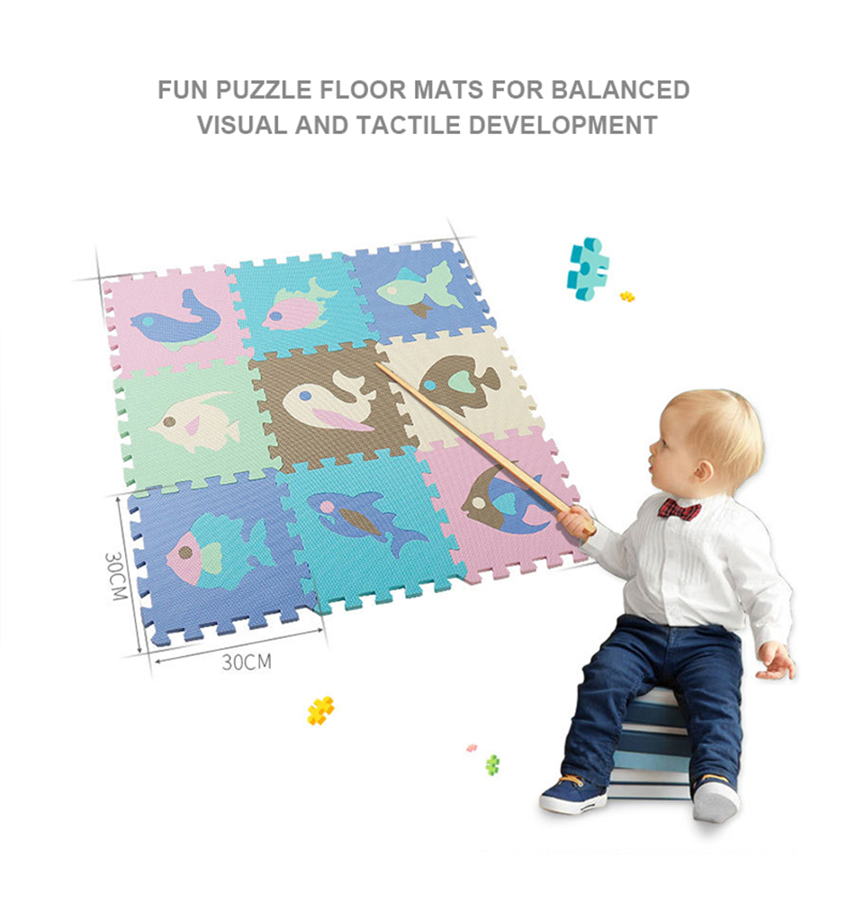 Hb1dd444768c94da782ea3f837b215ee79 25Pcs Kids Toys EVA Children's mat Foam Carpets Soft Floor Mat Puzzle Baby Play Mat Floor Developing Crawling Rugs With Fence