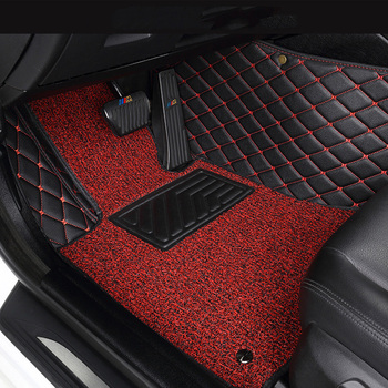 Easy to install car floor Foot mat For Genesis G80(2015-2019) G90(2017-2019) auto parts car model custom waterproof non-slip mat