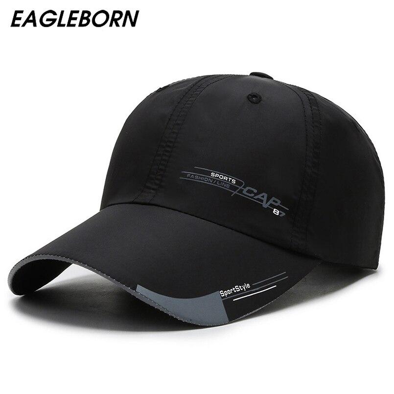 Дизайнерская летняя спортивная бейсбольная кепка для мужчин, тонкая трендовая Светоотражающая Солнцезащитная шляпа, солнцезащитная Кепка, бейсбольная кепка, светящаяся бейсболка|Мужские бейсболки|   | АлиЭкспресс