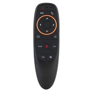 Image 2 - Commande vocale sans fil Air souris télécommande 2.4G gyroscope infrarouge apprentissage Microphone pour Android TV Box