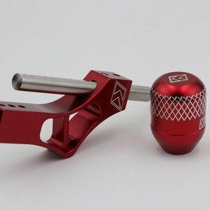Image 2 - Pommeau de levier de levier de manette de vitesse réglable en aluminium pour Honda Civic Integra CRX B16 B18 B20 D Series