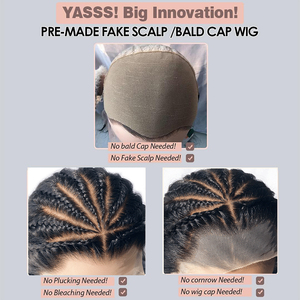Image 5 - Fake Scalp 150% 13x6 Short Curly Lace Front Human Hair Wigs Pre Plucked With Baby Hair Brazilian Remy Bob Wigs For Black Women