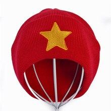 Pentastar Star Steven Universe hat Red winter Warm Knitted Caps Hat For Men Women hedging Crochet beanie