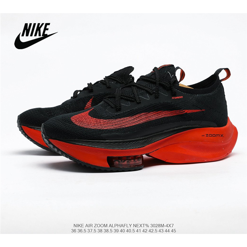 Original Nike Air Zoom Alphafly NEXT air cushion uses lighter and more breathable Atomknit <font><b>material</b></font> Women's running <font><b>shoes</b></font> image