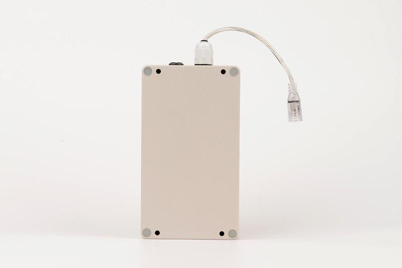 10 шт/лот lwaterproof dc 12v 12000mah емкость литий ионная аккумуляторная