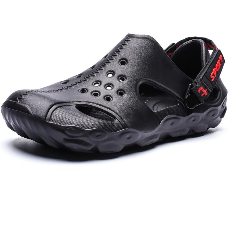 New Men Sandals Shoes Non-slip Soft