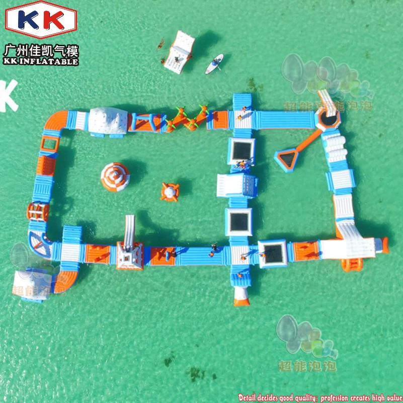 Adults Inflatable Floating Water Park Commercial Giant Inflatable Aqua Park Floating Water Playground