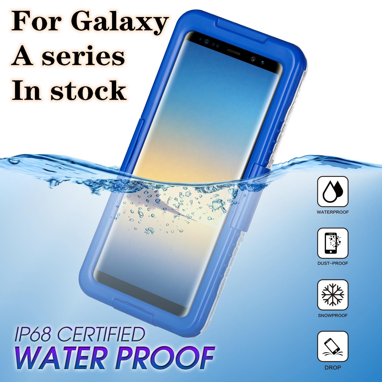 Водонепроницаемый чехол для Samsung Galaxy A20 A30 A50 A70 A80 A90 A70S A50S A30S A20S A10S A31