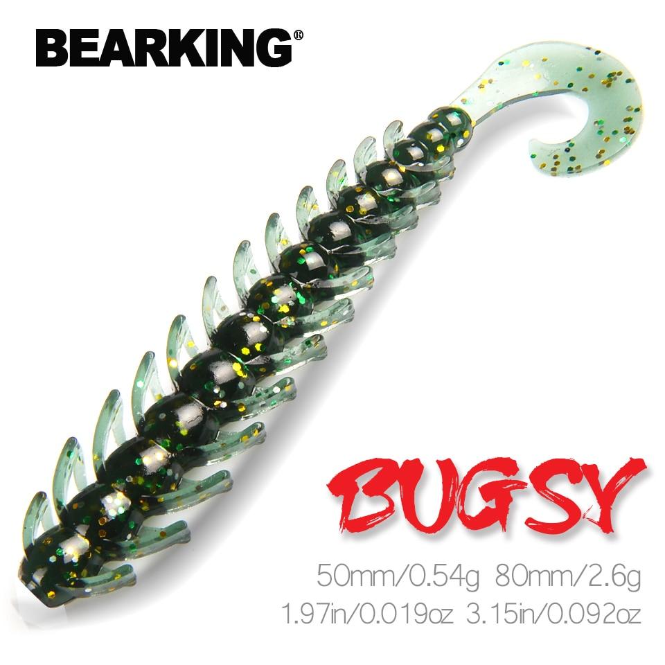 BEARKING Fishing Lure 80mm 50mm  bugsy Soft Baits Fishing Wobbler Bass Bait Artificial Fishing soft Lure Tacke|Fishing Lures|   - AliExpress
