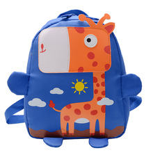 2020 New Children Backpacks 3D Giraffe Design Girl Boys Scho