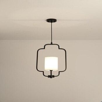Современный подвесной светильник в скандинавском стиле с дизайнерским стеклянным педантом, художественный декоративный светильник, свети...