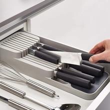 KHGDNOR пластиковый держатель для ножей, ящик для ножей, вилки, ложки, стеллаж для хранения ножей, подставка для ножей, лоток для кухонной посуды, Органайзер
