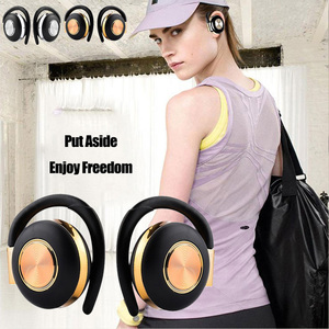 Image 1 - Air V5 TWS Drahtlose Kopfhörer Stereo Bluetooth 5,0 Kopfhörer Ohr Haken Noise Cancelling Bluetooth Headset Mit Mikrofon