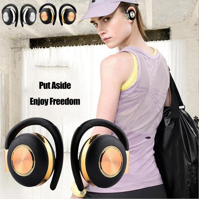 Air V5 TWS Drahtlose Kopfhörer Stereo Bluetooth 5,0 Kopfhörer Ohr Haken Noise Cancelling Bluetooth Headset Mit Mikrofon