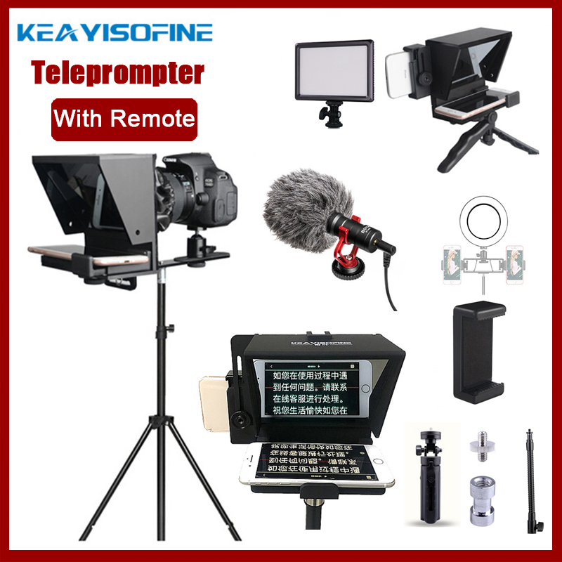 Artifact Phone Video Dslr-Recording Remote-Control Live-Broadcast Teleprompter Mobile