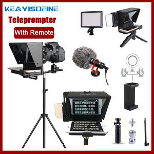 Artifact Phone Video Dslr-Recording Remote-Control Live-Broadcast VS Teleprompter Mobile