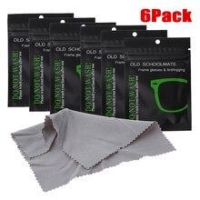 6 pçs reutilizáveis anti-nevoeiro toalhetes óculos pre-umedecido antifog lente pano defogger eyeglass wipe evitar embaciamento para óculos