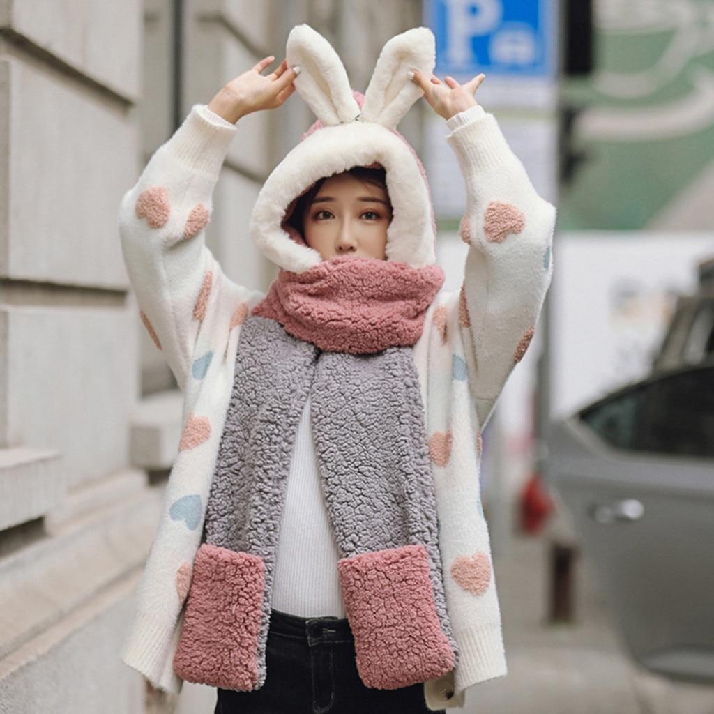 Милая детская зимняя плюшевая Толстая шапка с искусственным рисунком, наушники, теплая шапка, зимняя плюшевая меховая шапка для родителей и детей, детская Горячая Распродажа