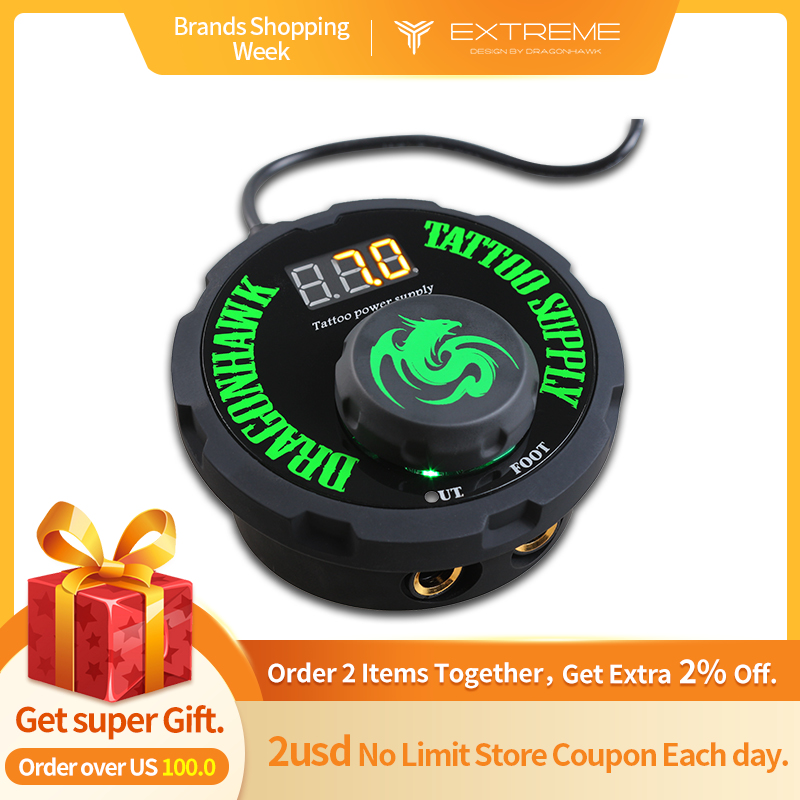 New Design Tattoo Power Supply Digital LCD Lithium Battery Charger Tattoo Power Supply