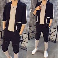 Tuta Uomo Sport 2 Pieces Track Suit 2020 Spring Clothing Men Set Casual Men Sweatshirts Brand Tracksuits Jacket Pants Sweat Suit
