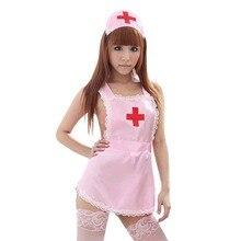 Porno Lingerie Hot Women Baby Doll Erotic Dress Cosplay Nurse Uniform Sexy Costumes Role Play Underwear Sleepwear