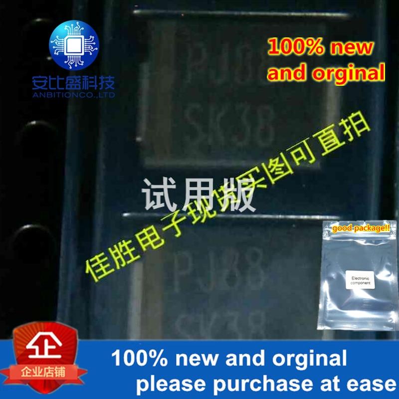 20pcs 100% New And Orginal SK38 3A80V DO214AB Silk-screen SK38 In Stock