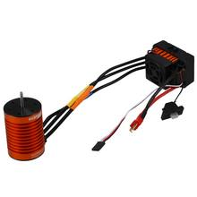 SuperPass HOBBY Upgrade impermeable F540 3930KV Motor sin escobillas con 45A ESC Combo conjunto para 1/10 RC Car camión(China)