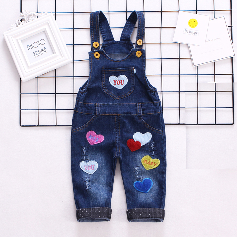 IENENS Baby Boys Jeans Denim Clothing Pants Kids Boy Overalls Clothes Trousers