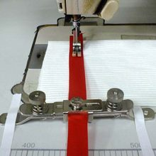 Clamp For Elastic Band, Lace, Webbing, Industrial Sewing Machine Parts, Presser Foot, The Width Adjustable