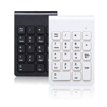 Wireless Numeric Keypad Numpad Multifunctional Digital Hand-Held Keyboard For Accounting Laptop Notebook Tablets