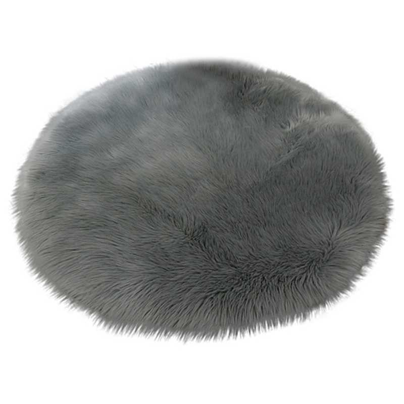 30*30cm Soft Small Artificial Sheepskin Rug Chair Cover Bedroom Mat Artificial Wool Warm Hairy Carpet Seat Textil Fur Area Rugs