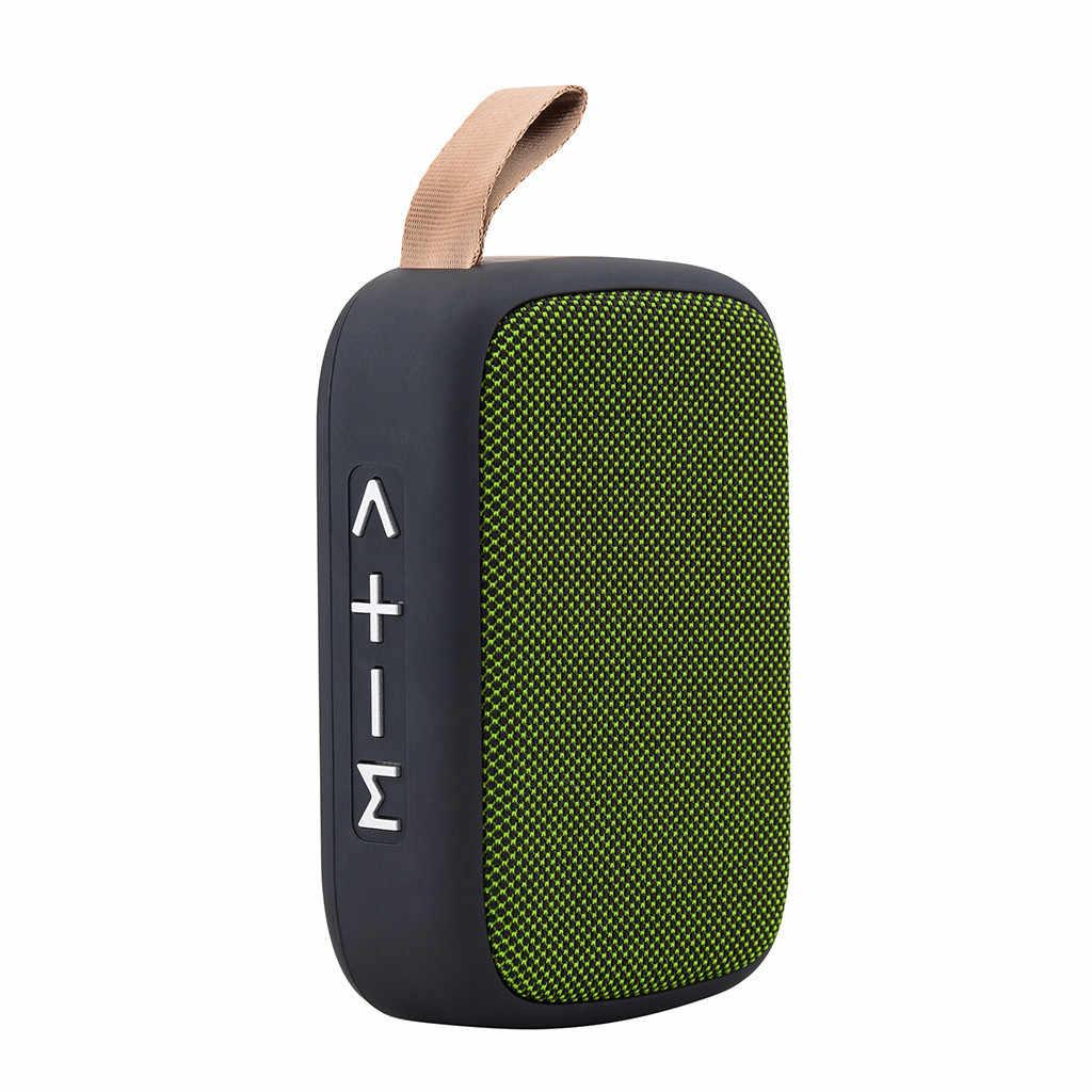 مكبر الصوت اللاسلكي مكبر صوت بخاصية البلوتوث قابل للنقل ستيريو SD بطاقة FM رئيس ل كمبيوتر لوحي (تابلت) وهاتف ذكي Lapt سمّاعات بلوتوث للهاتف # A
