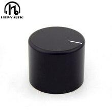 HIFI אודיו amp אלומיניום נפח ידית 1pcs קוטר 30mm גובה 25mm מגבר פוטנציומטר knob