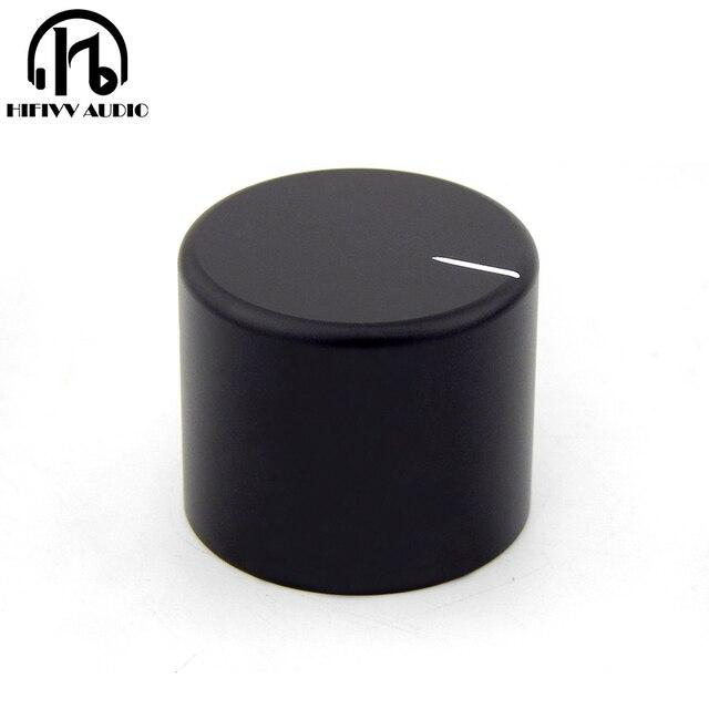 HIFI audio amp Aluminum Volume knob 1pcs Diameter 30mm Height 25mm amplifier Potentiometer knob
