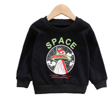 New Sweatshirts for Boy Children #8217 s Sweatshirt Tops for Girls Kids Costume Baby Boy Clothes Toddler Sweatshirt Baby Boys Clothes cheap Unini-yun Without CN(Origin) Fashion Cotton Fits true to size take your normal size Cartoon Regular Full