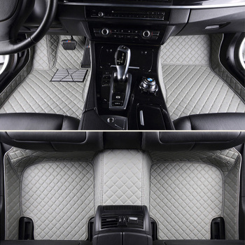 Leather Custom car floor Foot mat For Nissan Teana 2003-2019 J31 J32 L33 3D Protector Car Clean 3D Floor Mat Auto Interior