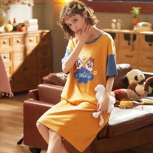 Image 5 - Yeni yaz karikatür severler sevimli pijama kadın erkek çift kısa kollu pijama setleri günlük kıyafetler pijama kadın gecelik