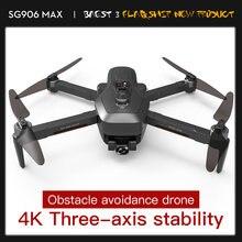 Дрон sg906 max 4k hd с широкоугольной камерой 5g fpv двойной
