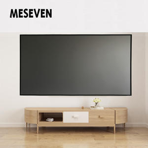 MESEVEN Fabric-Cloth Projector-Screen Benq XGIMI Reflective Theater 130inch JMGO Home