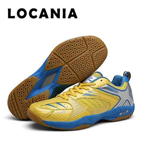 Absorção de Choque Badminton Sapatos Caber Moda Plutônio Vamp Respirável Antiderrapante Engrossado Calcanhar Apoio Estabilizar Formadores Par