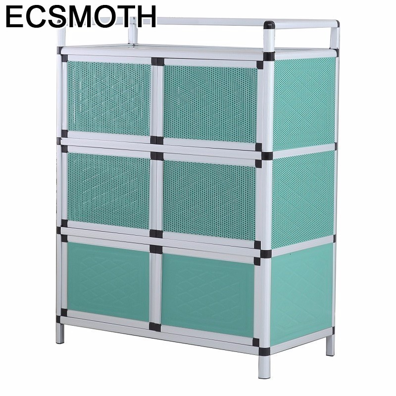Sidebord Bestek Lade Sideboard For Room End Tables Mueble Cocina Meuble Buffet Aluminum Alloy Kitchen Furniture Cupboard
