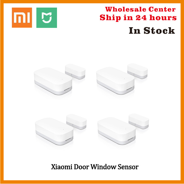 In Stock <font><b>Xiaomi</b></font> <font><b>Door</b></font> <font><b>Window</b></font> <font><b>Sensor</b></font> Zigbee With Mi App For Android IOS Phone Wireless Connection Smart Mini <font><b>Door</b></font> <font><b>Sensor</b></font> Work image