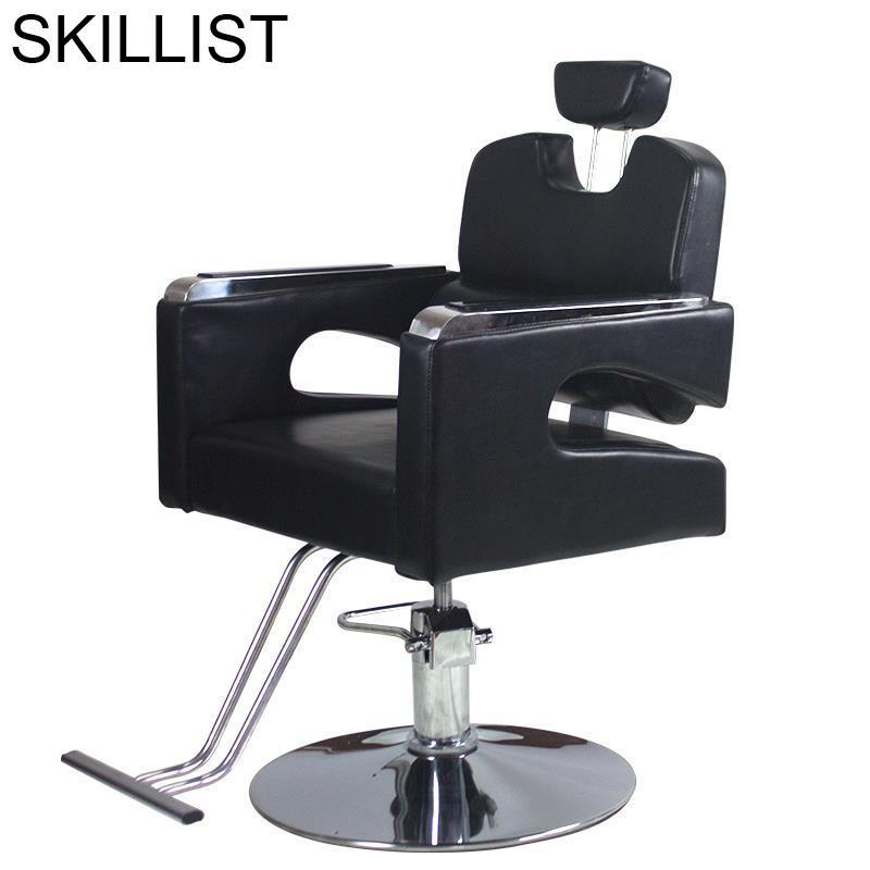 De Cabeleireiro Sessel Stuhl Schoonheidssalon Kappersstoelen Chaise Mueble Barberia Barbershop Shop Cadeira Salon Barber Chair